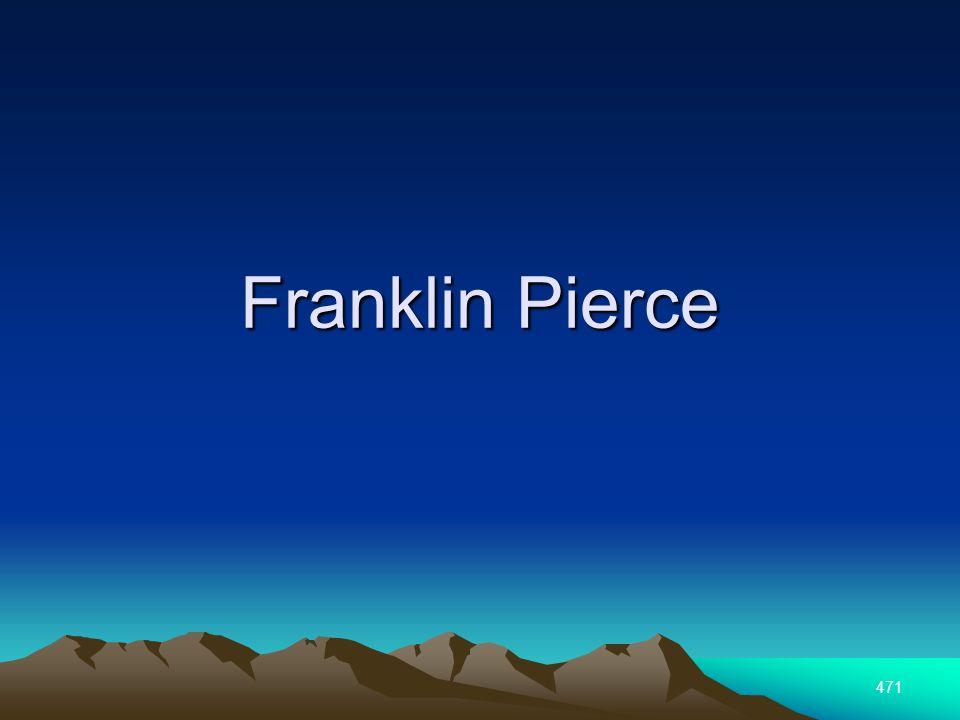 471 Franklin Pierce