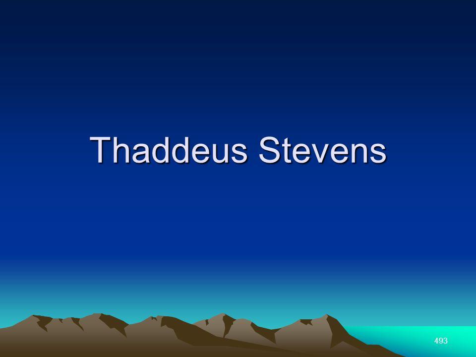 493 Thaddeus Stevens