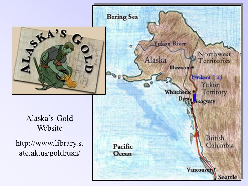 Alaskas Gold Website http://www.library.st ate.ak.us/goldrush/