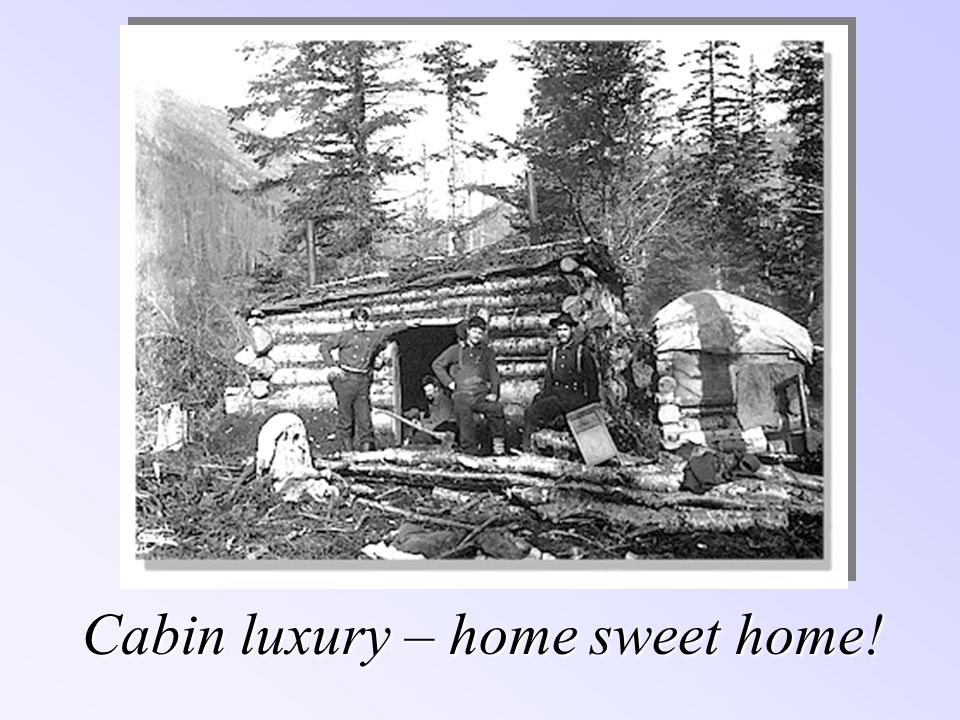 Cabin luxury – home sweet home!
