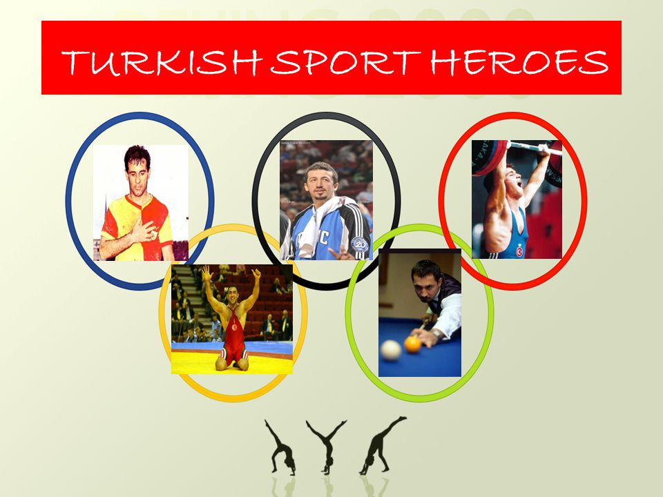 Turkey has many sport heroes in various sport branches.