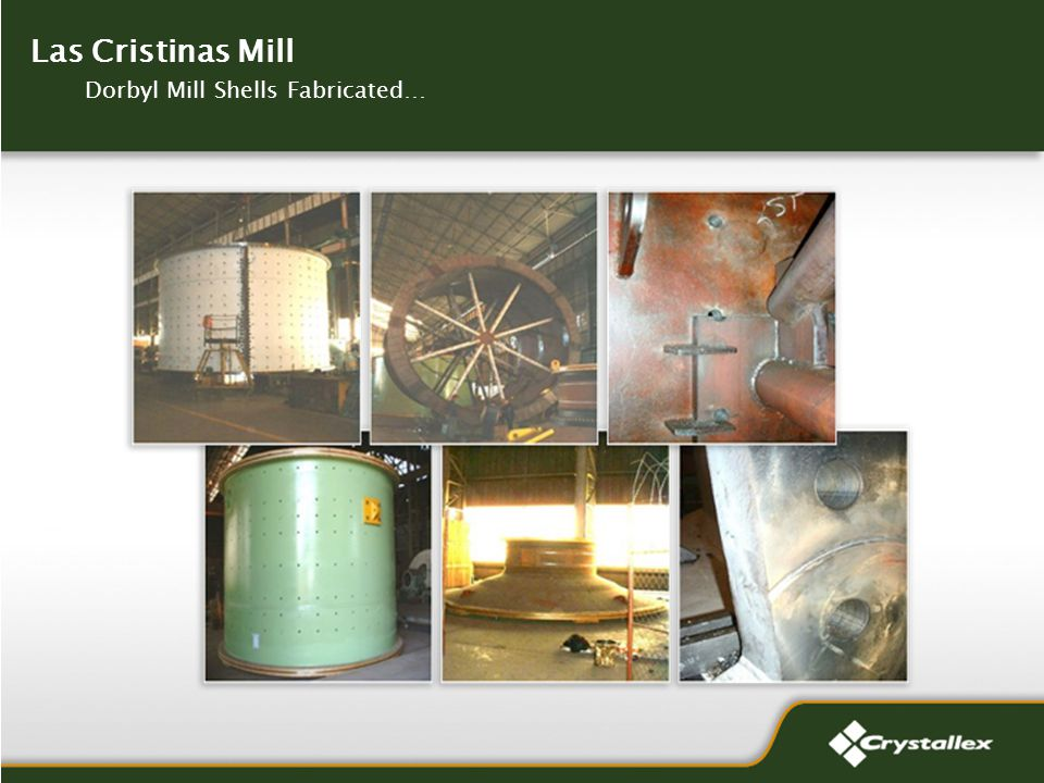 Las Cristinas Mill Dorbyl Mill Shells Fabricated…