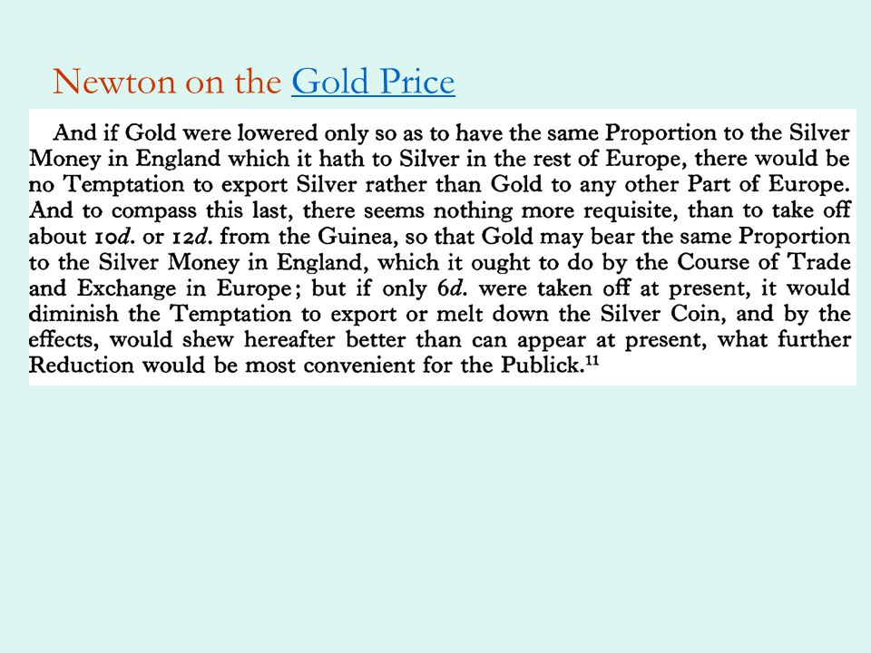 Consequences of the Crime Omission crucial because of the expected decline in the price of silverexpected decline Had there been no decline in the silver-gold price ratio – or, as it is more usually expressed, rise in the gold-silver price ratio – it would have been irrelevant whether the fateful line was included in the act of 1873 or omitted.