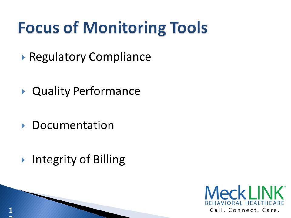 1212 Regulatory Compliance Quality Performance Documentation Integrity of Billing