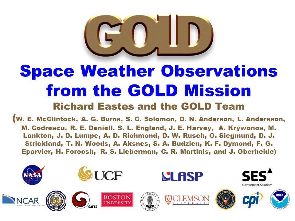 GOLD Mission, April 2014 SWWPage 2R.