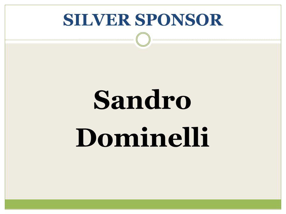 SILVER SPONSOR Sandro Dominelli