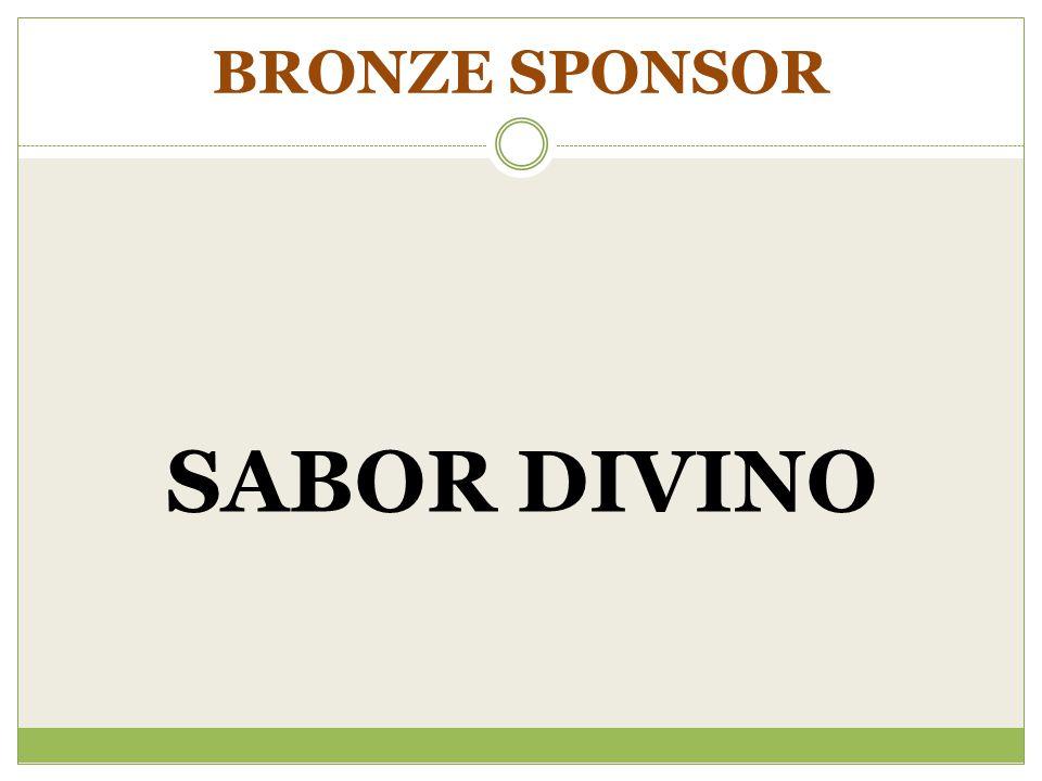 BRONZE SPONSOR SABOR DIVINO