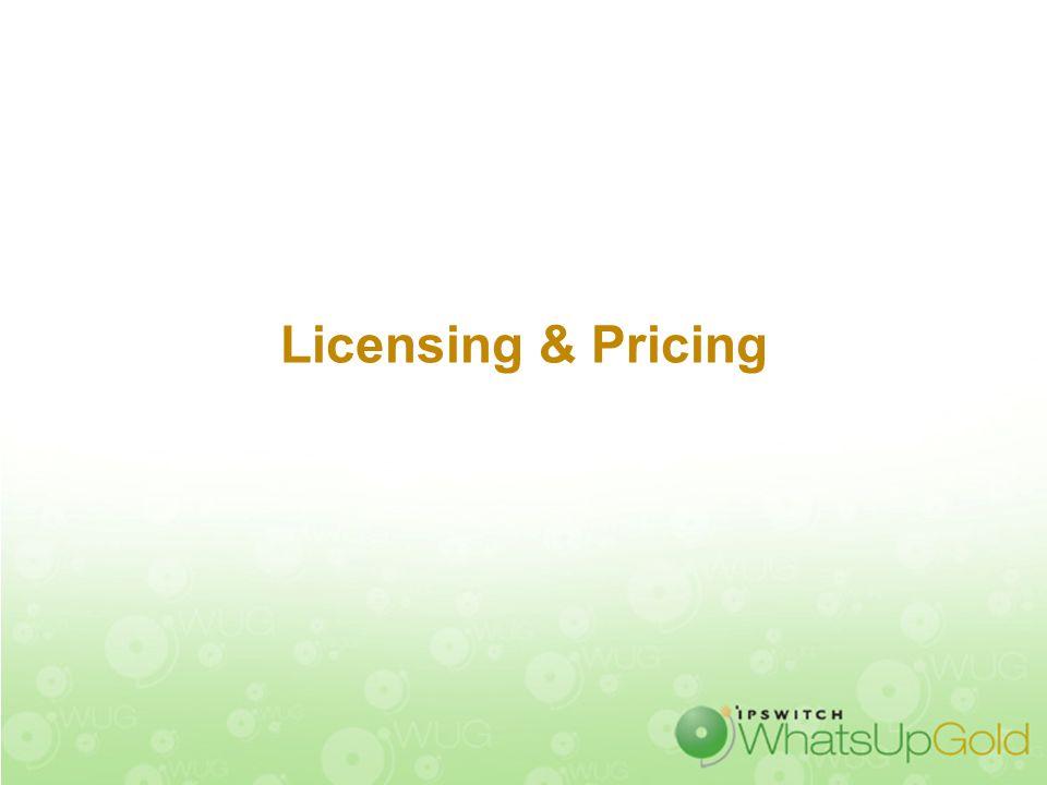 Licensing & Pricing