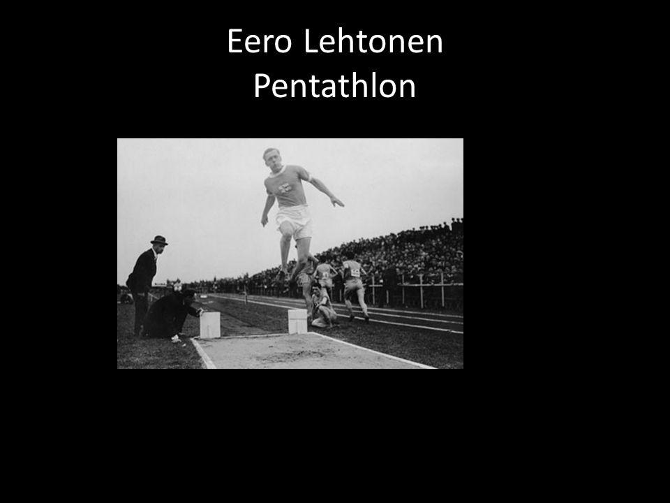 Eero Lehtonen Pentathlon