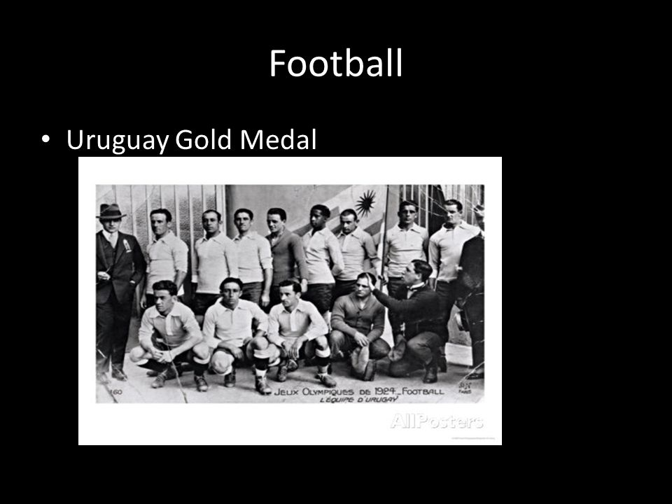 Football Uruguay Gold Medal
