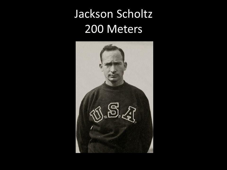 Jackson Scholtz 200 Meters