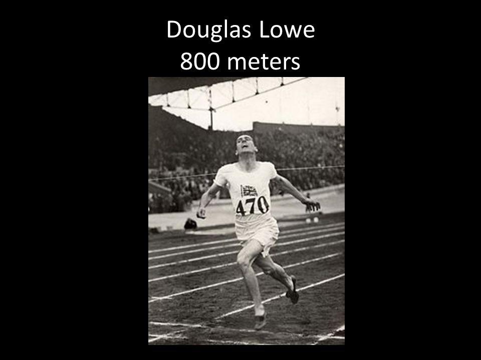 Douglas Lowe 800 meters