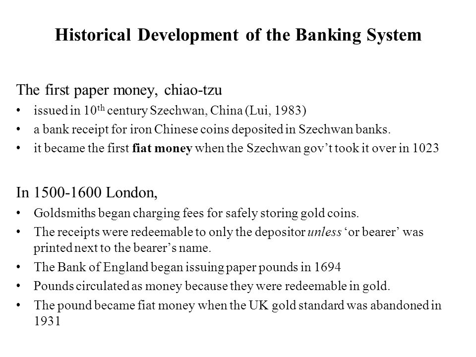 The system described above is called fractional reserve banking because reserves are a fraction of demand deposits Such a system is inherently risky bank profits increase as the reserves ratio falls.
