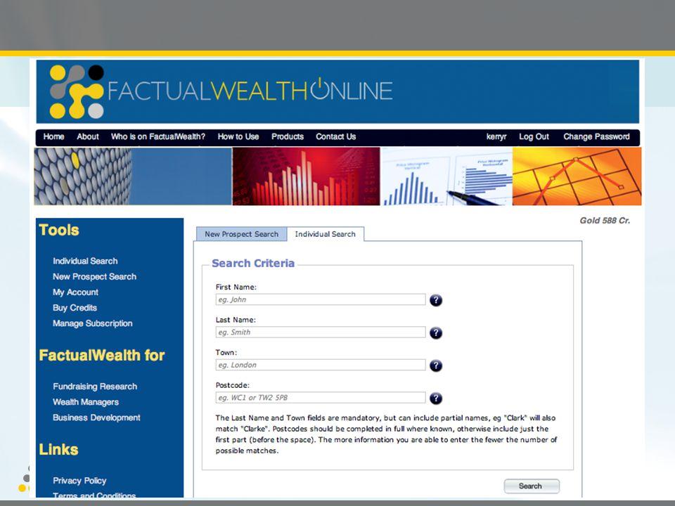 PROSPECTING FOR GOLD LTD Wealth Intelligence Services
