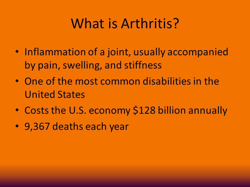 What is Arthritis.
