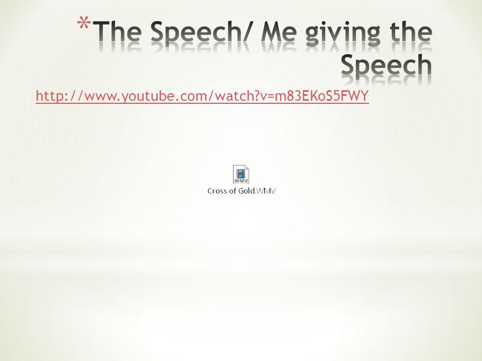 http://www.youtube.com/watch v=m83EKoS5FWY