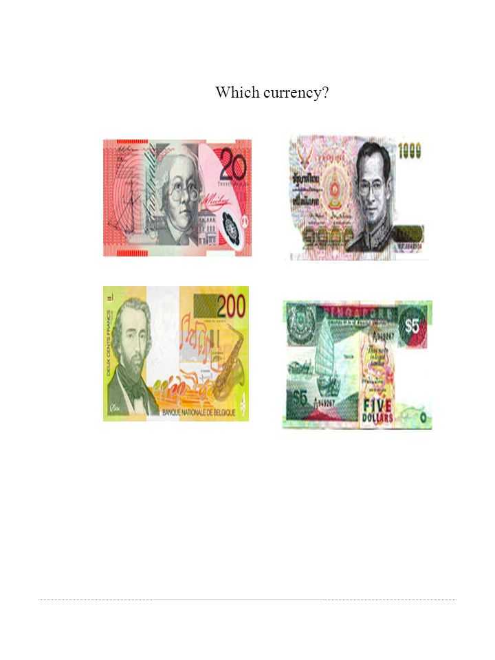 Which currency