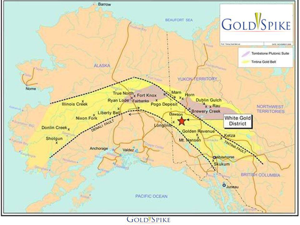 VIP Property No history of bedrock exploration work on the property Covers unreported significant historic placer operation Immediately west of Kaminak Gold More than 700 claims covering 40,000 acres Staked before Kaminak Gold discoveries Initial work program completed Neighbours include Kaminak Gold, Silver Quest, Ryan Gold Along trend and similar to original Kaminak Gold geochem Structures identified, prospecting, geochem, mapping underway 17