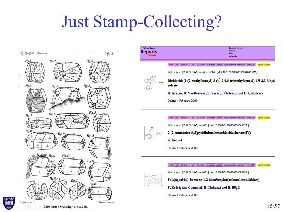 16/57 Just Stamp-Collecting