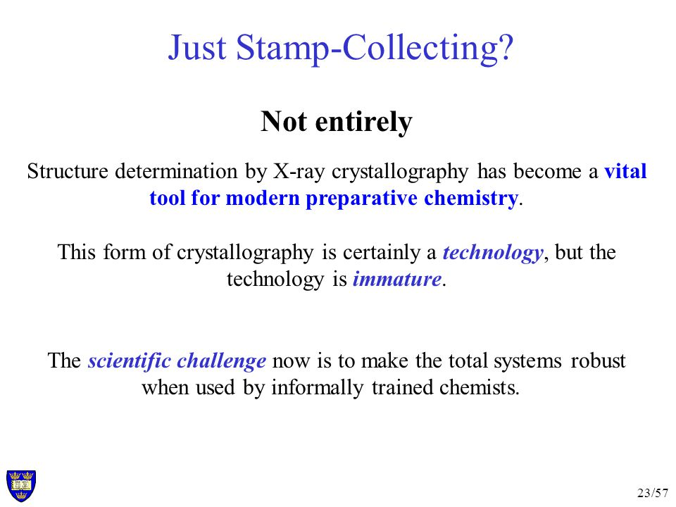23/57 Just Stamp-Collecting.