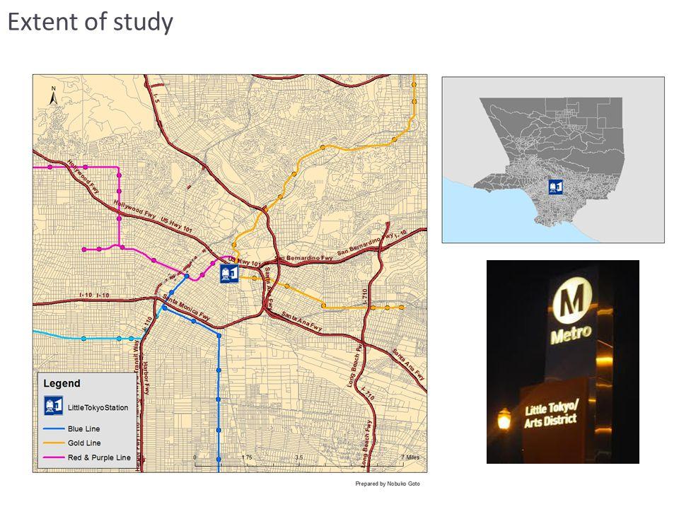Extent of study