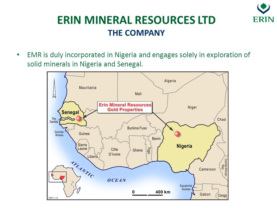 Landowner consents Environmental constraints on exploration companies Apparent ad-hoc cancellation of mineral titles Mineral title rental fees Payment of with-holding tax INVESTING IN NIGERIAS MINERAL SECTOR ERINS EXPERIENCE