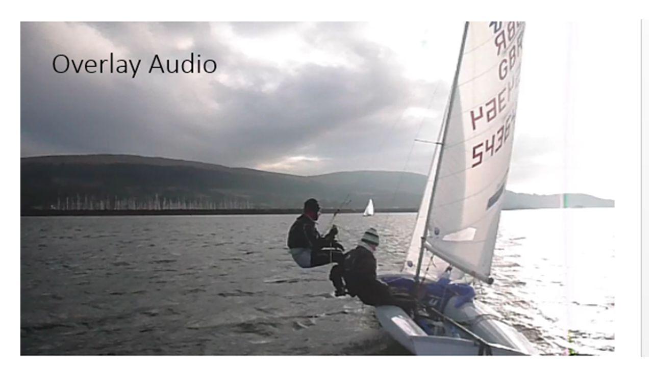 Overlay Audio