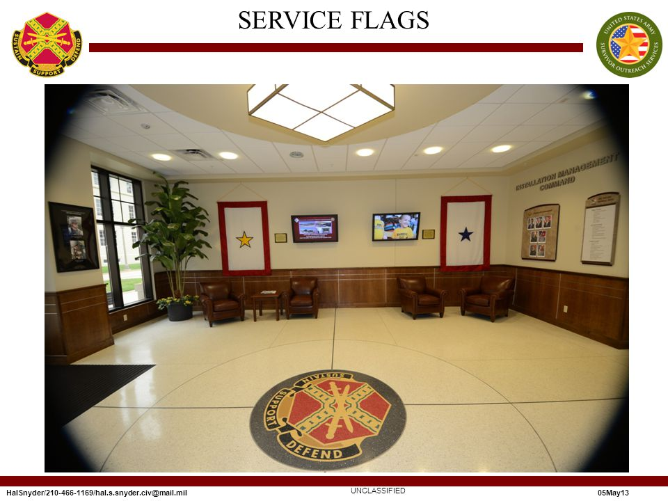SERVICE FLAGS UNCLASSIFIED