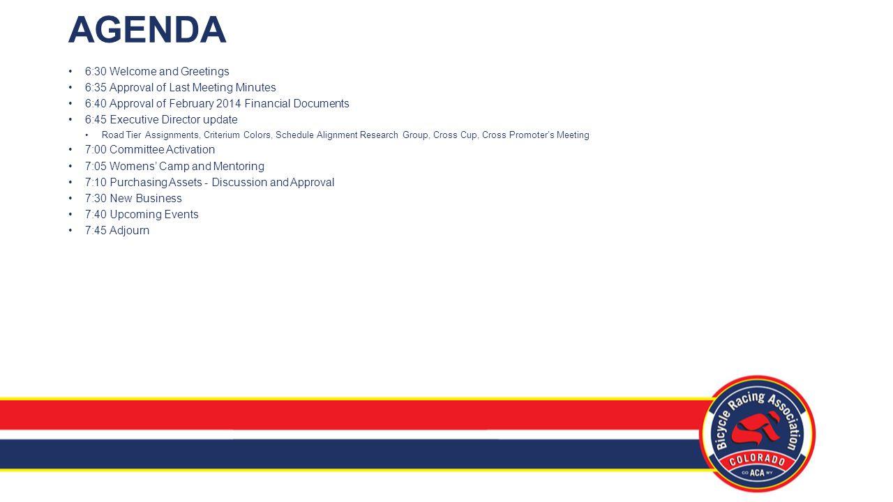 Board of Directors Meeting March 18, 2014