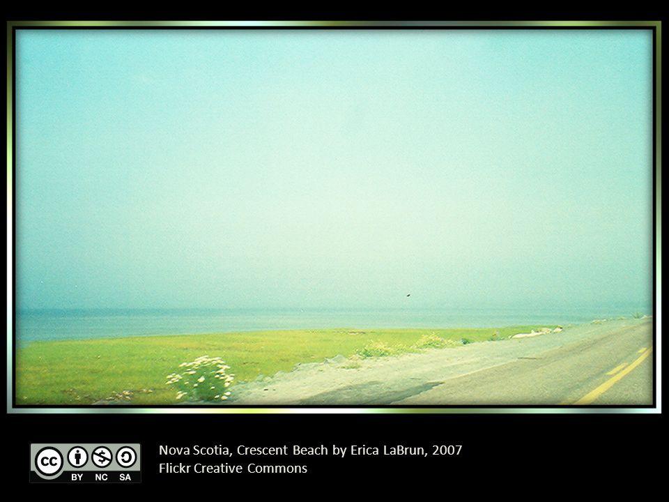 Nova Scotia, Crescent Beach by Erica LaBrun, 2007 Flickr Creative Commons