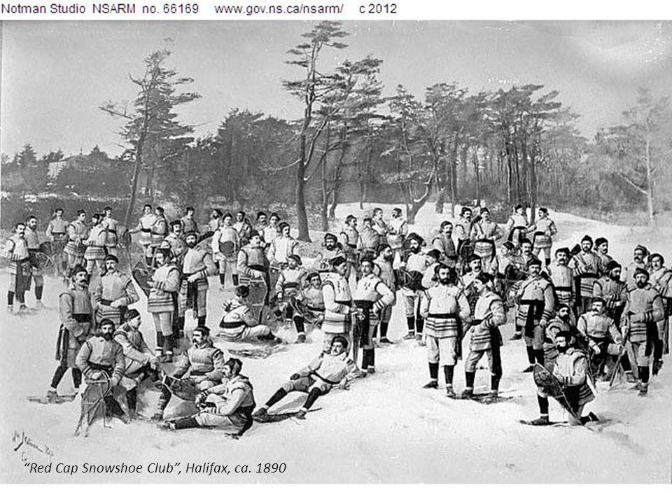 Red Cap Snowshoe Club, Halifax, ca. 1890