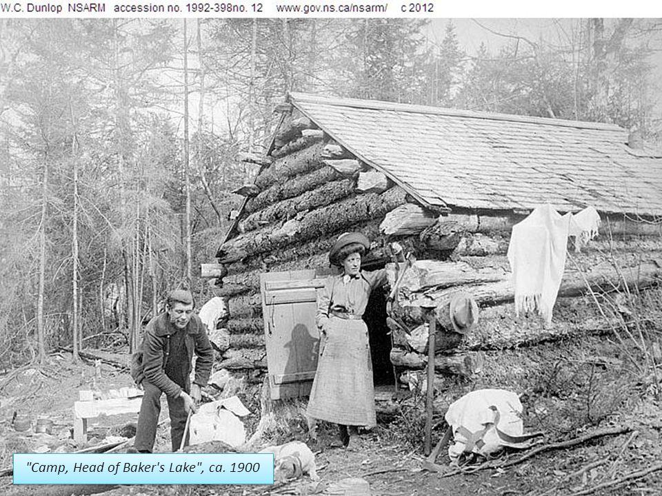 Camp, Head of Baker s Lake , ca. 1900