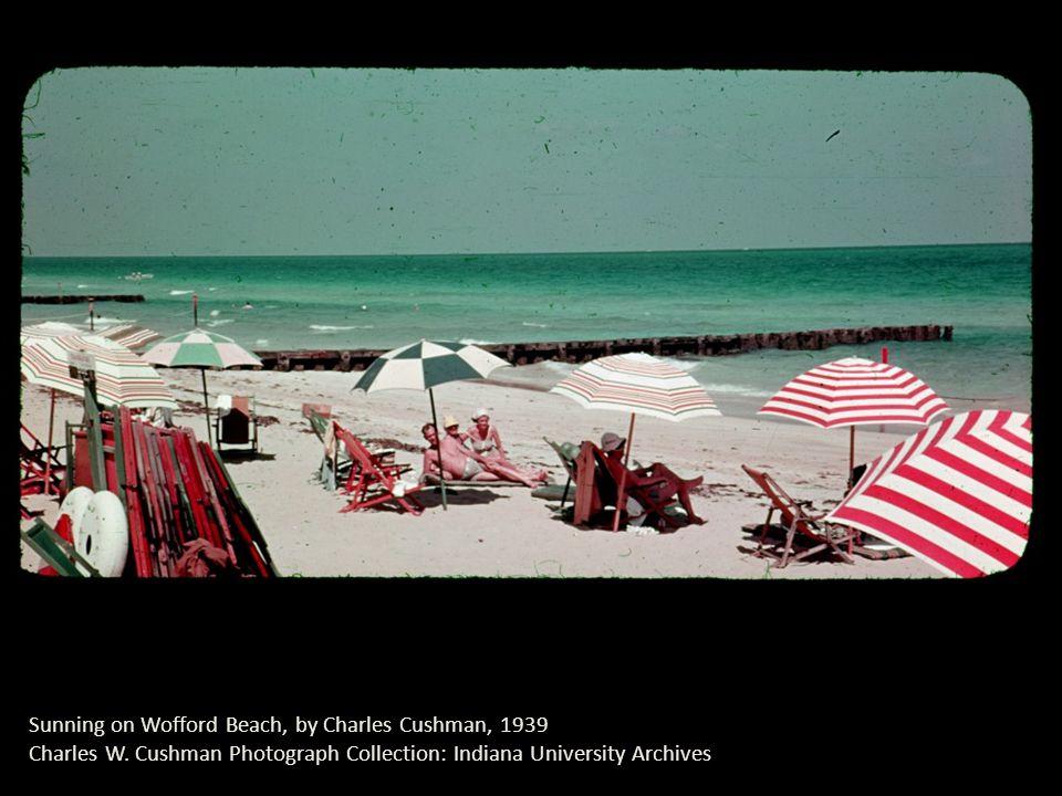 Sunning on Wofford Beach, by Charles Cushman, 1939 Charles W.