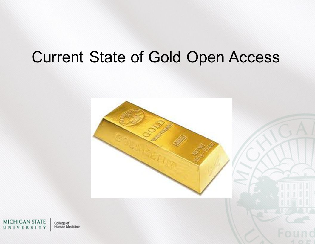 Current State of Gold Open Access