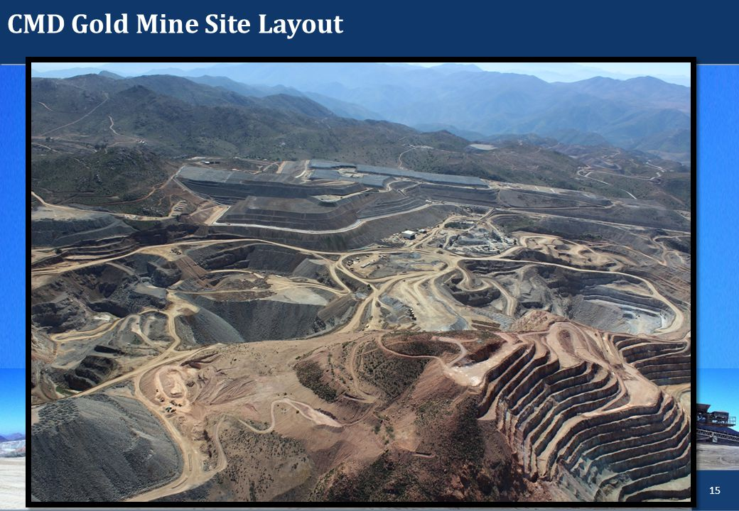 CMD Gold Mine Site Layout LACHLAN STAR LIMITED 15