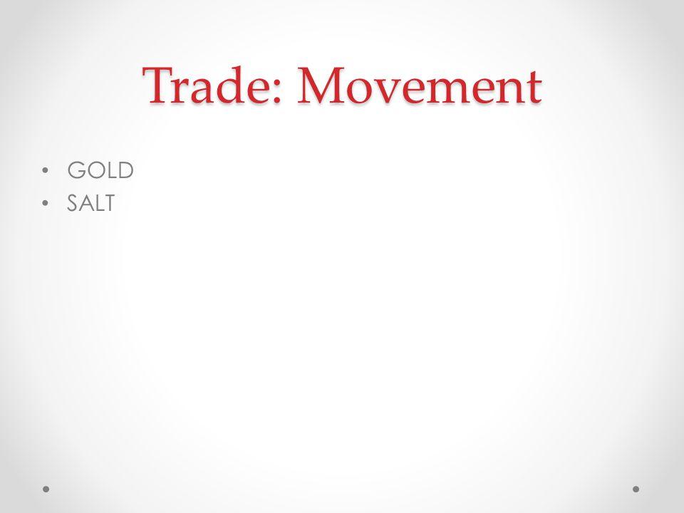 Trade: Movement GOLD SALT