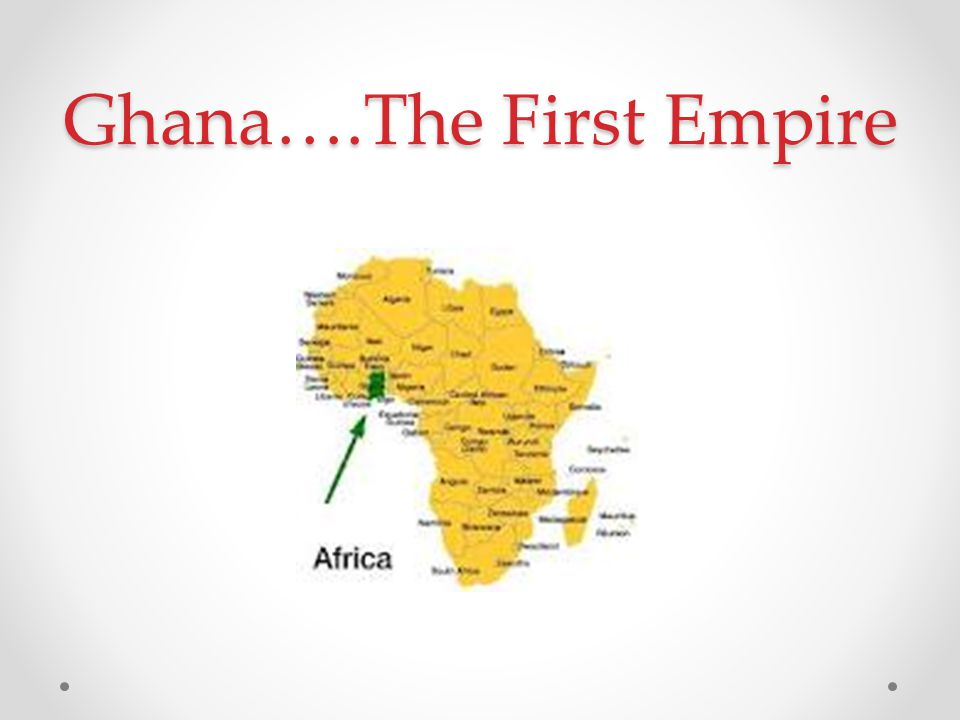 Ghana….The First Empire