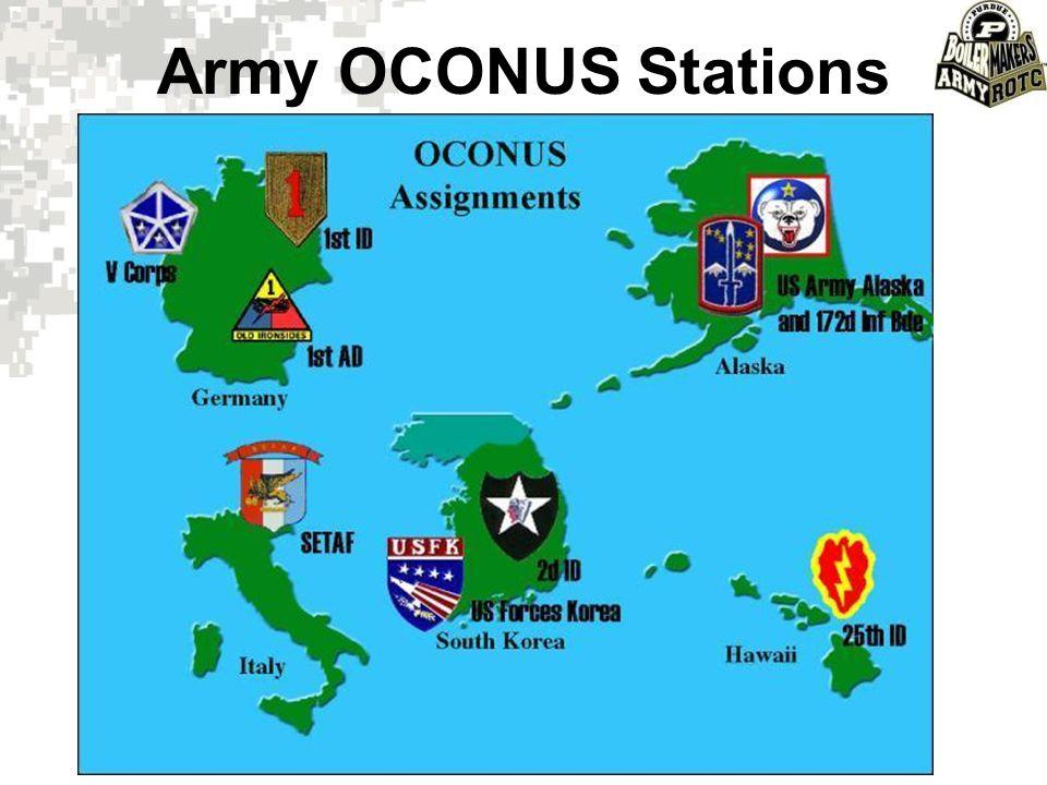 Army OCONUS Stations