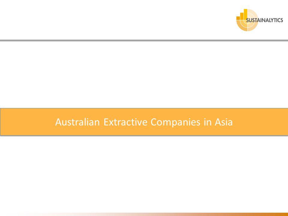 Australian Extractive Companies in Asia