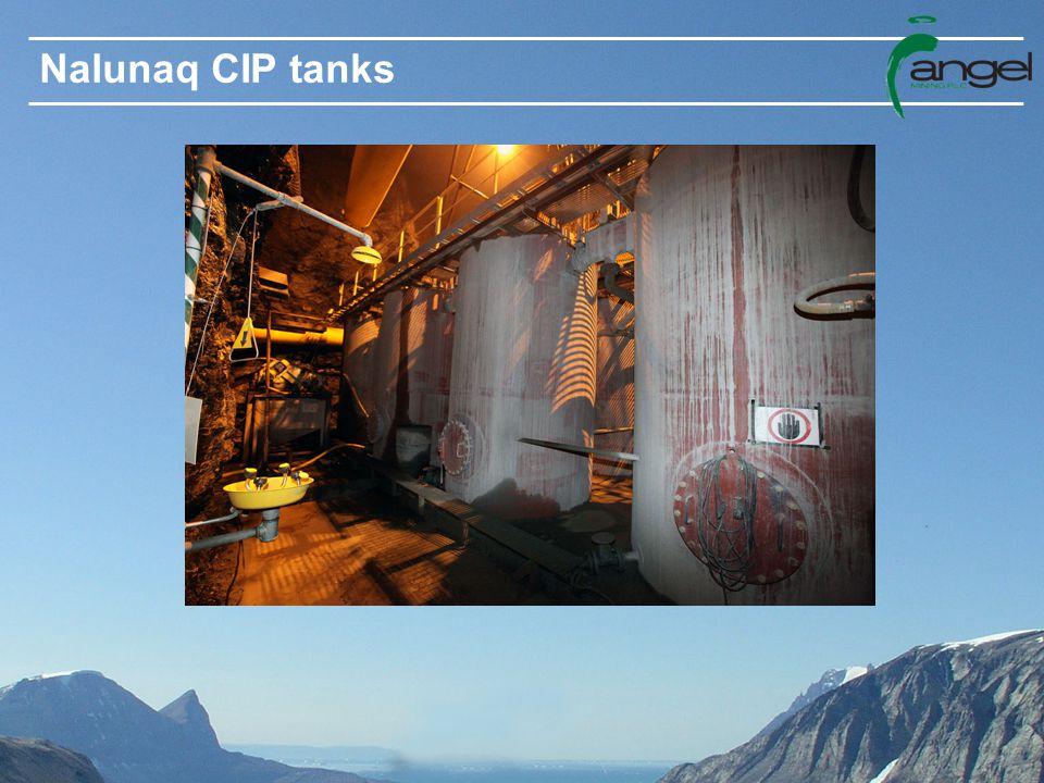 Nalunaq CIP tanks