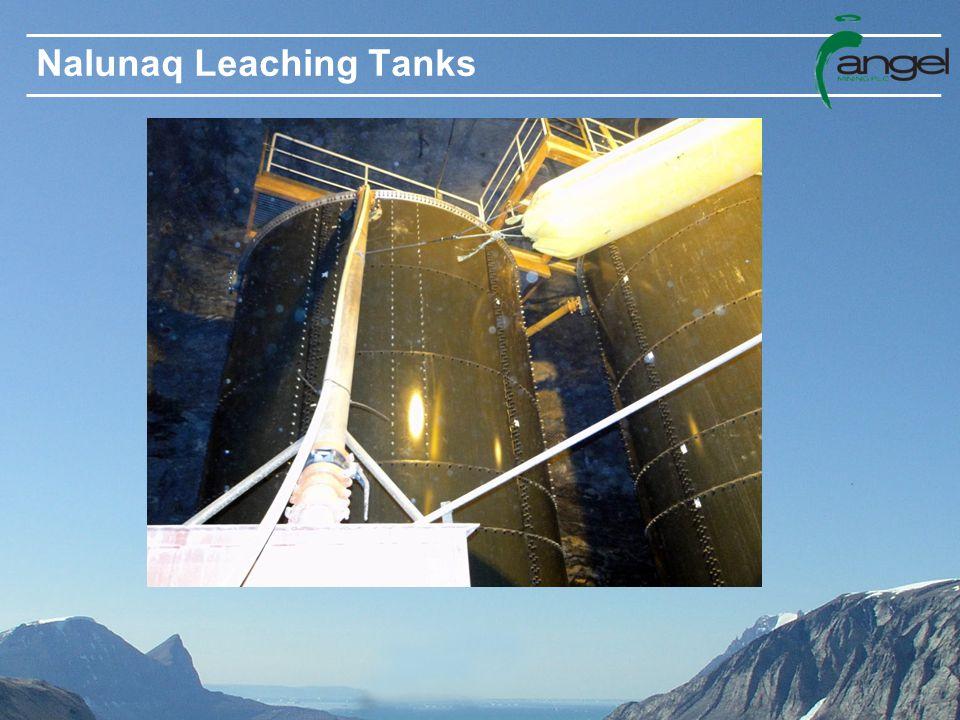 Nalunaq Leaching Tanks