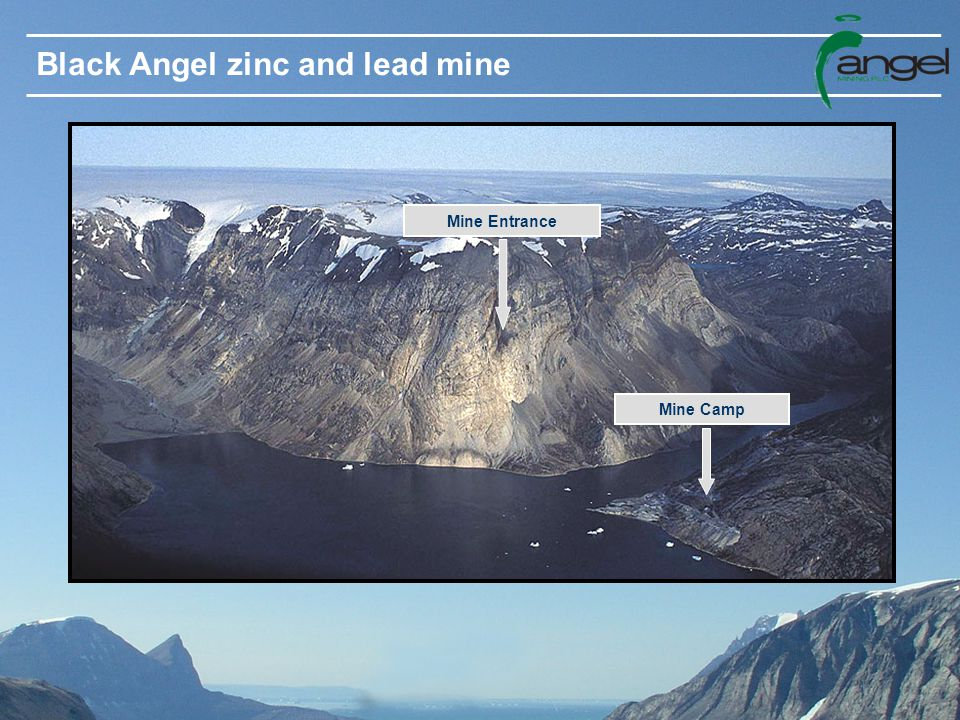 Black Angel zinc and lead mine Mine Entrance Mine Camp
