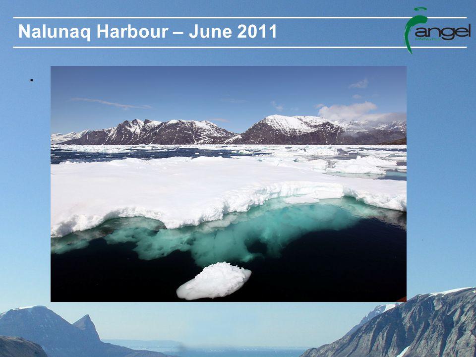 Nalunaq Harbour – June 2011.