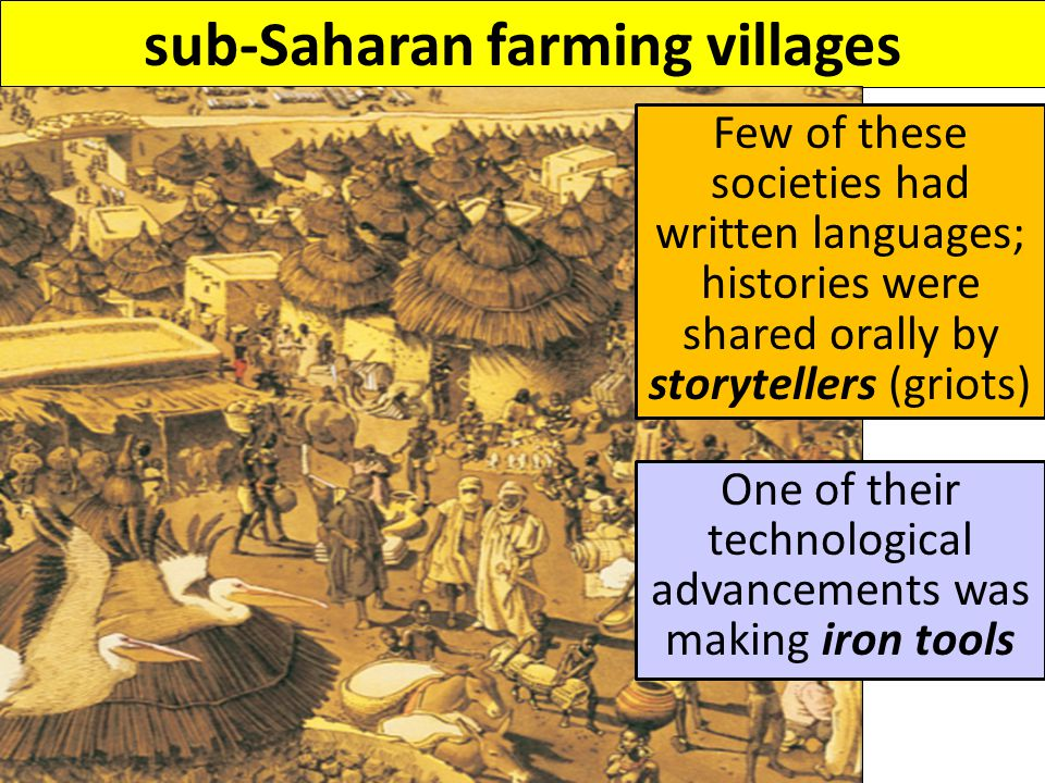 WEST AFRICA: GOLD-SALT TRADE The societies of West Africa were shaped by trade with North Africa West Africa had large deposits of gold, but no salt North Africa had large deposits of salt, but no gold