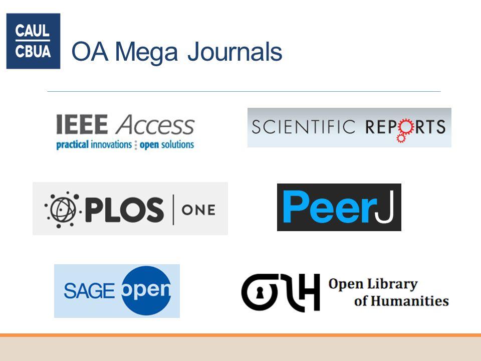 OA Mega Journals