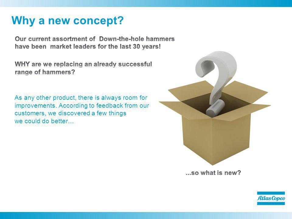 Why a new concept?