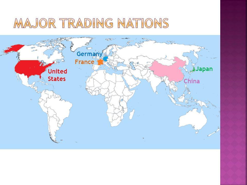 United States China Germany Japan France