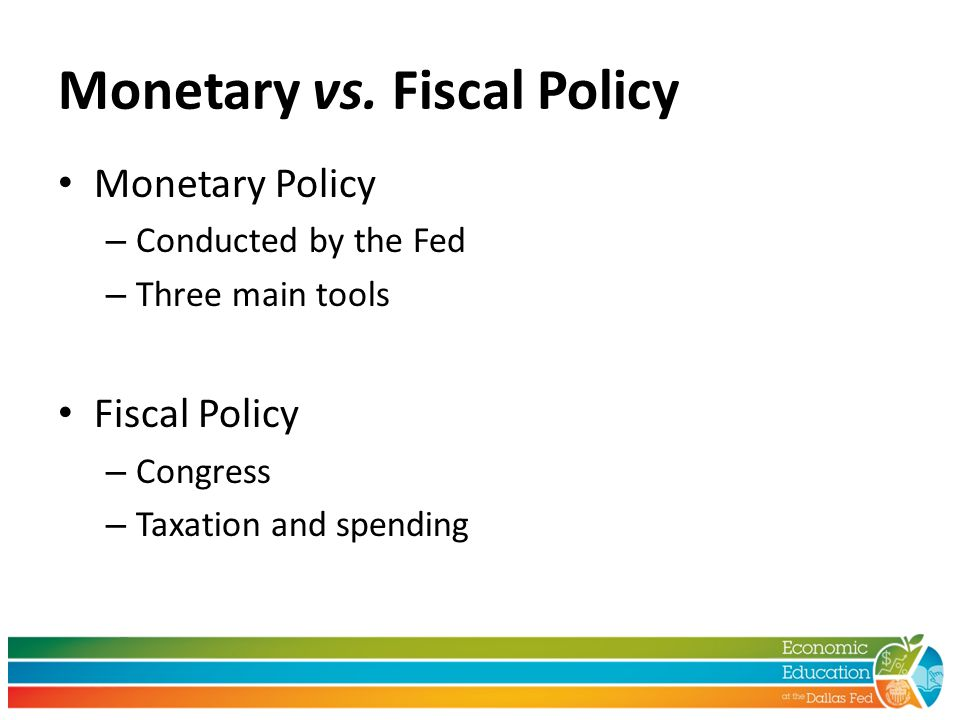 Monetary vs.
