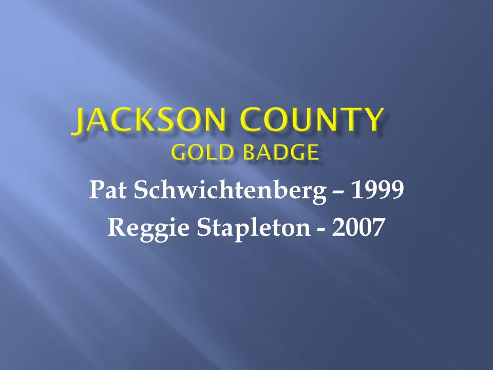 Pat Schwichtenberg – 1999 Reggie Stapleton - 2007