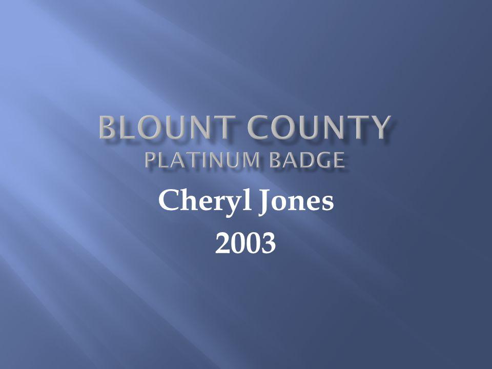 Cheryl Jones 2003
